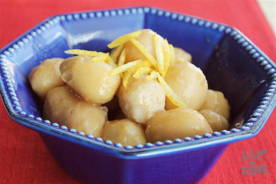 里芋の煮っころがし(里いも+A水を使ったレシピ)