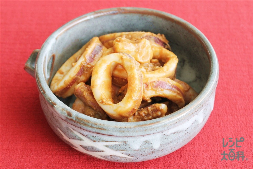 いかのごろ味噌煮(するめいか+「ほんだし」を使ったレシピ)