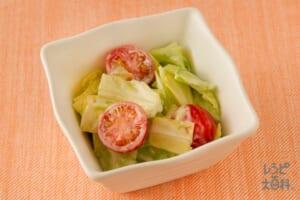 キャベツの簡単洋風サラダ