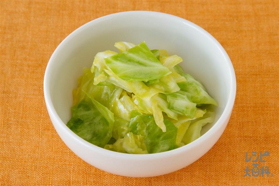 ちぎりキャベツの簡単中華風サラダ