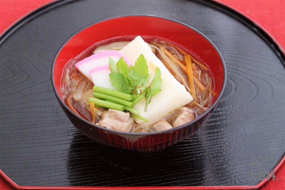 宮城風雑煮(切り餅+大根を使ったレシピ)