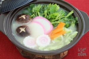 正月明け白湯鍋(鶏もも肉+白菜を使ったレシピ)