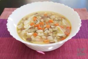 ひっつみ根菜スープ(ひっつみこんこんスープ)