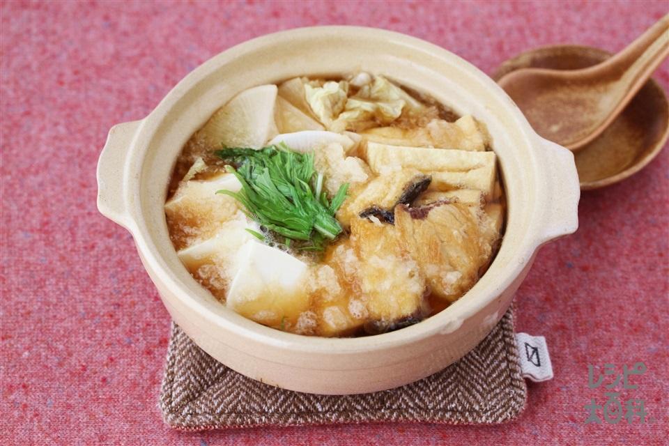 ぶりのおろし鍋(ぶり+大根を使ったレシピ)
