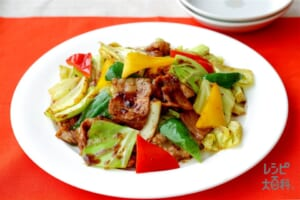 彩り野菜の回鍋肉