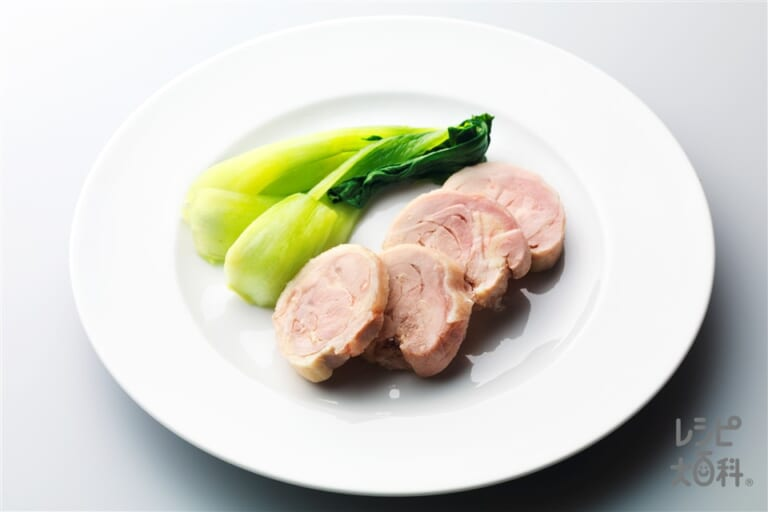 レンジで作る鶏ハム