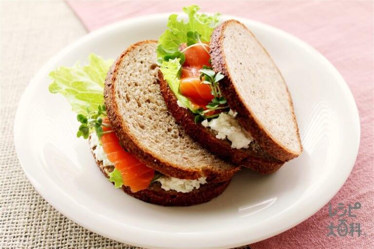 銀鮭サンド