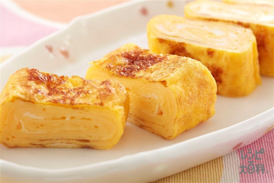 卵焼き(卵+A「パルスイート ビオリゴ」を使ったレシピ)