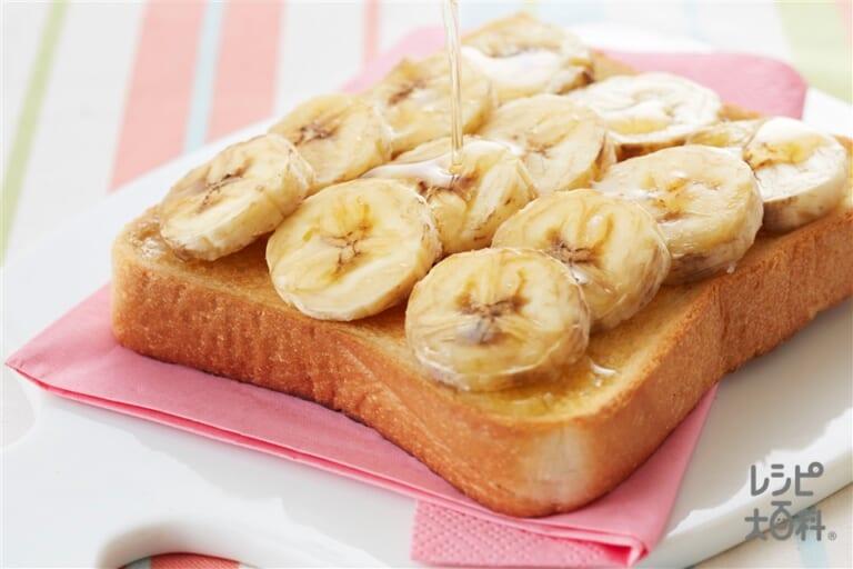 デザートトースト バナナ