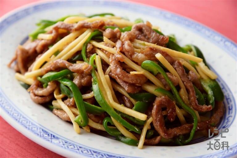 「香味ペースト」でつくる青椒肉絲<オイスター醤油味>