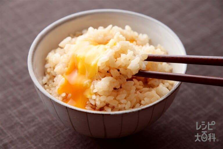オイスター醤油風味の卵かけご飯