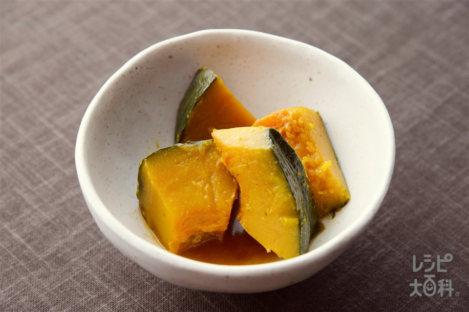 かぼちゃの香味煮<オイスター醤油味>(かぼちゃを使ったレシピ)
