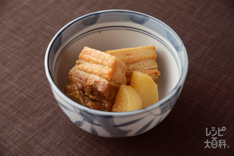 角煮(豚バラかたまり肉+大根を使ったレシピ)