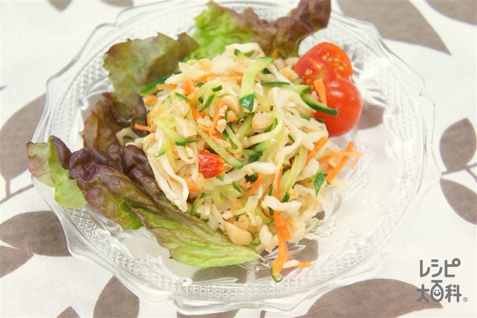 ソムタム(きゅうり+ミニトマトを使ったレシピ)