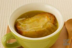 簡単!時短!オニオングラタンスープ