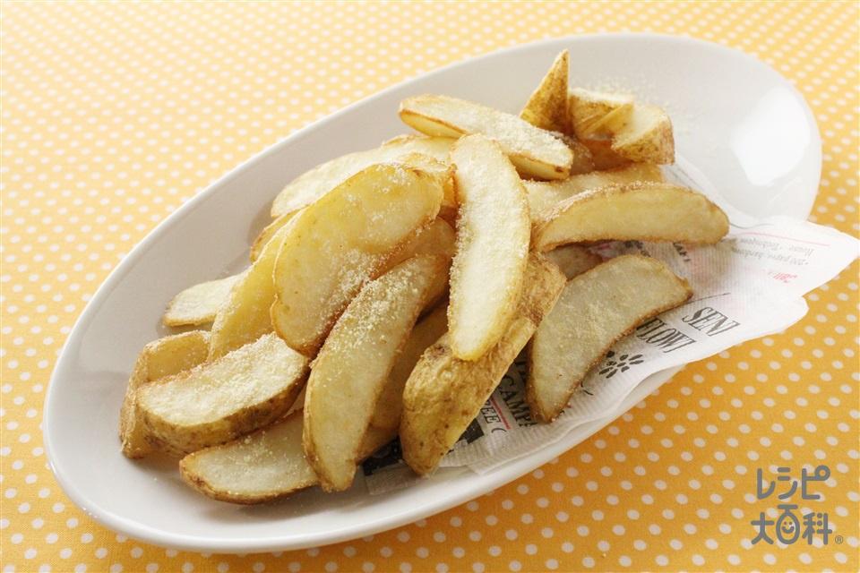 フライドポテト(フライドポテト+「丸鶏がらスープ」を使ったレシピ)