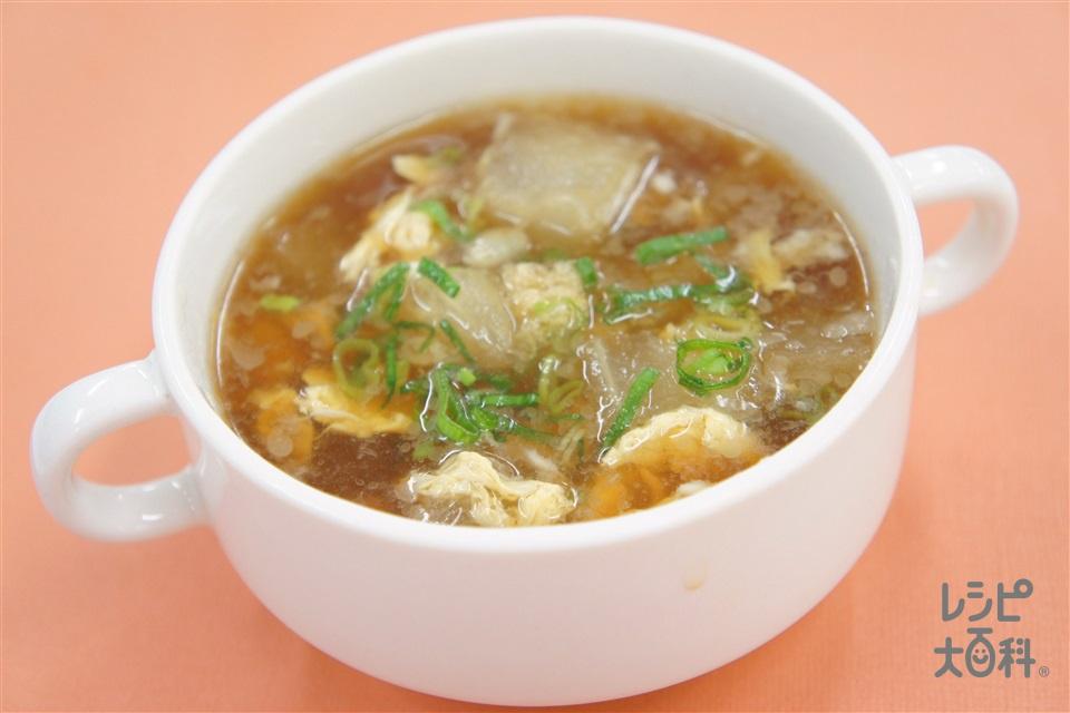 冬瓜の中華スープ