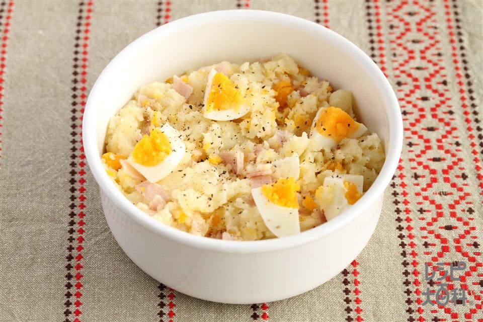 じゃがいもと卵のサラダ(じゃがいも+卵を使ったレシピ)