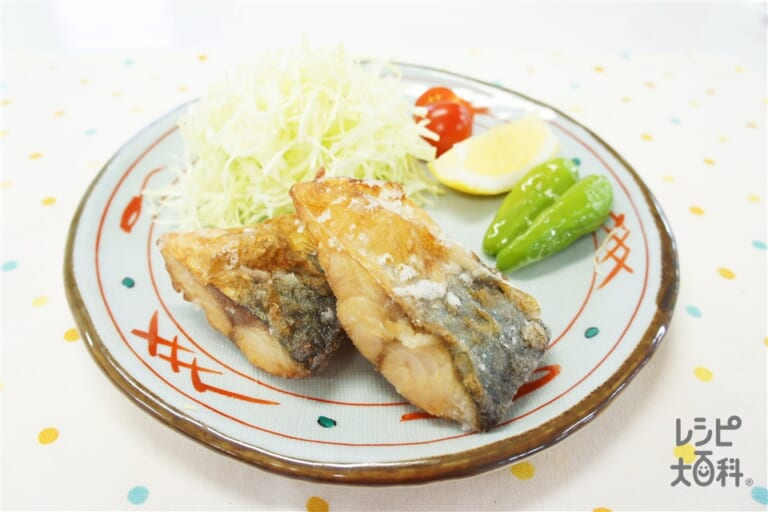 鯖の竜田揚げ