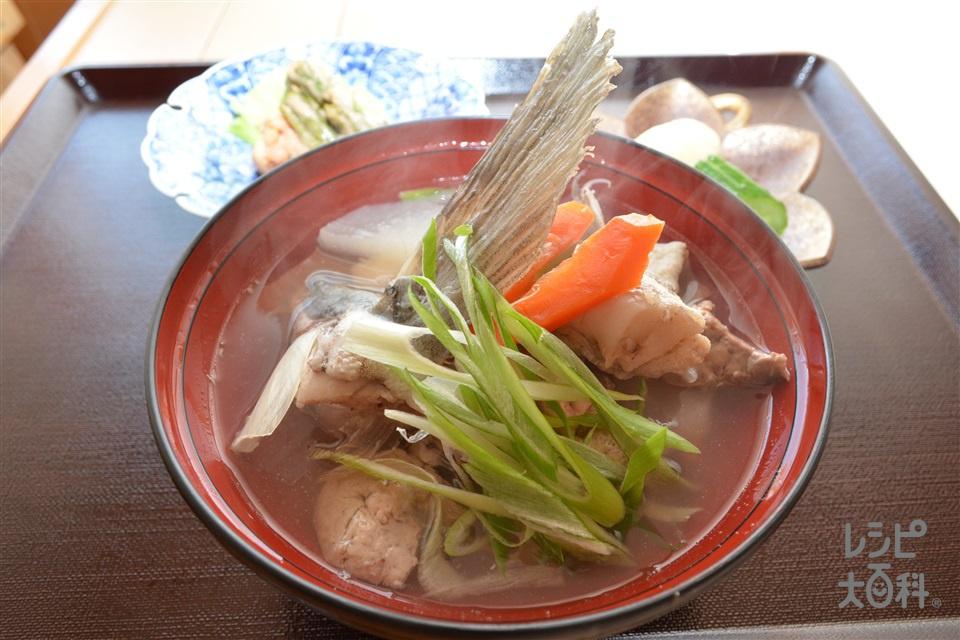 鱈のじゃっぱ汁(たら+大根を使ったレシピ)