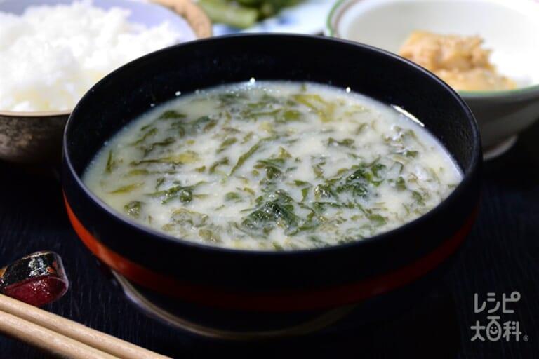 青菜の粕汁