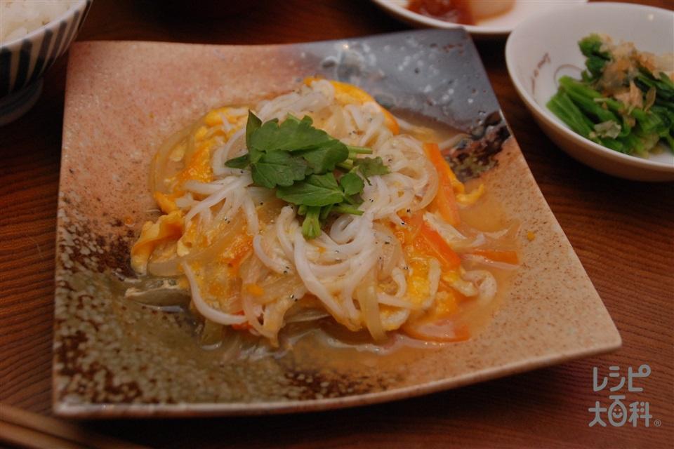 シラウオの卵とじ(しらうお+溶き卵を使ったレシピ)