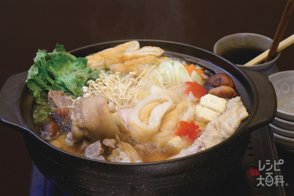 沖縄風寄せ鍋
