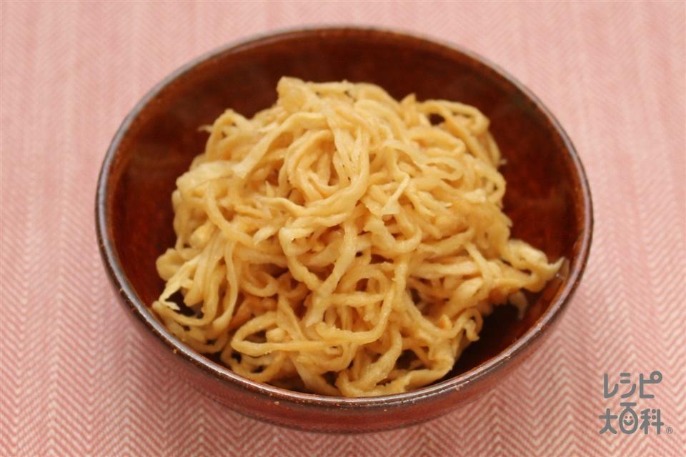 切干大根の中華和え(切り干し大根+A湯を使ったレシピ)