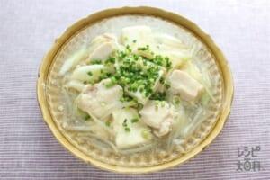 鶏むね肉と豆腐の中華あん