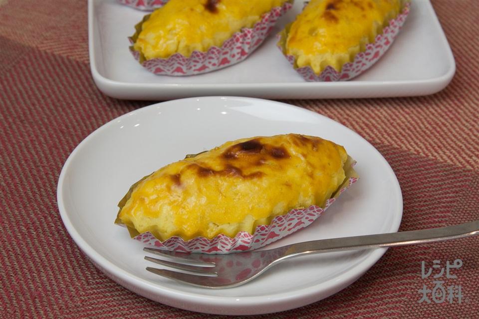 スイートポテト(さつまいも+バター(食塩不使用)を使ったレシピ)