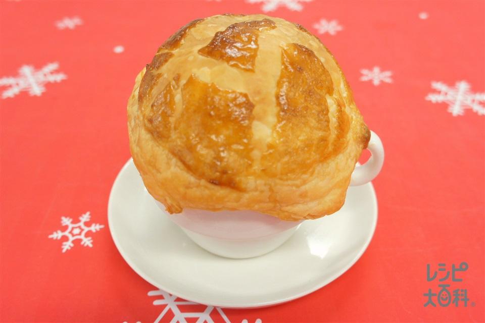 ポットパイ(牛乳+溶き卵を使ったレシピ)