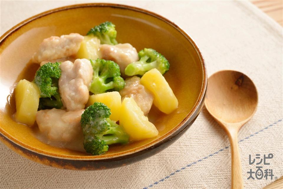 チキンのクリーム煮(鶏もも肉+「瀬戸のほんじお」を使ったレシピ)
