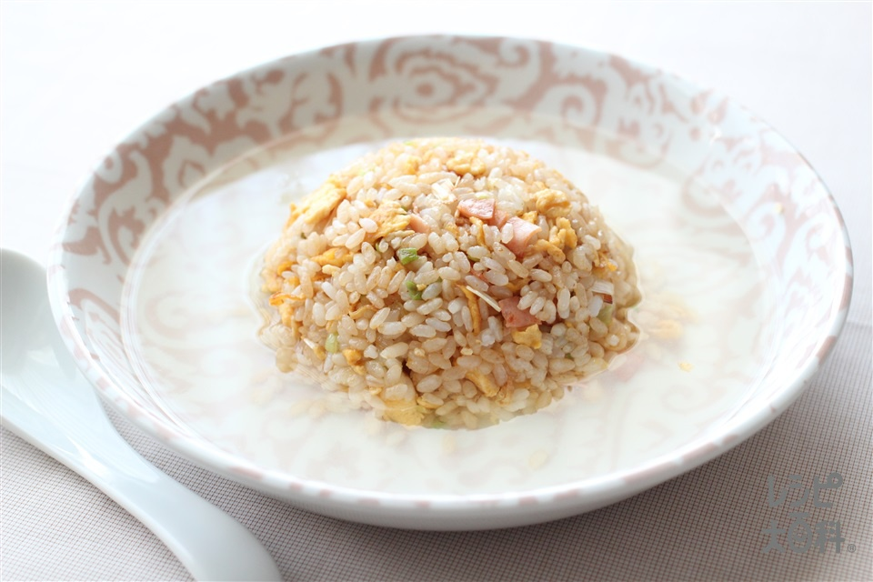 スープチャーハン(ご飯+卵を使ったレシピ)