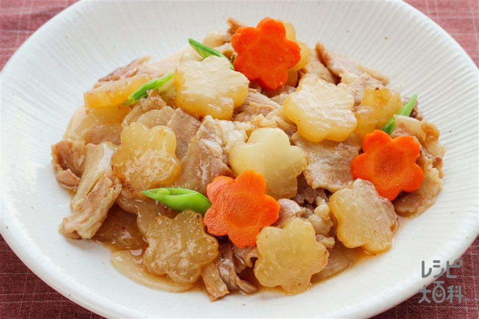合格!豚バラ大根(豚バラ薄切り肉+大根を使ったレシピ)