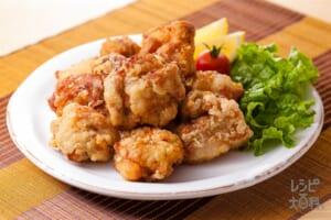 マヨネーズでやわらか鶏のから揚げ