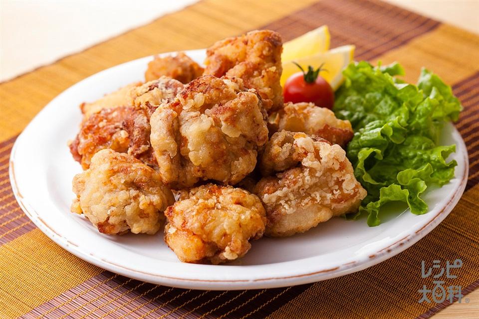 マヨネーズでやわらか鶏のから揚げ(鶏もも肉を使ったレシピ)