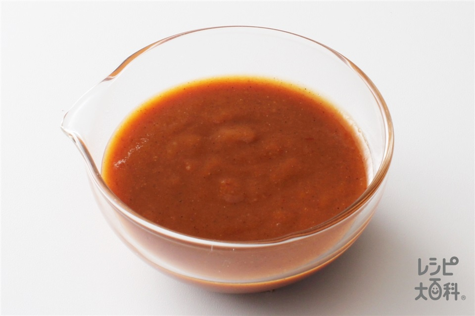 怪味ソース(練り白ごま+砂糖を使ったレシピ)