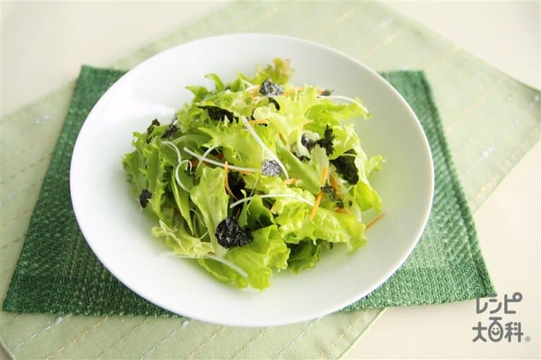 簡単チョレギサラダ