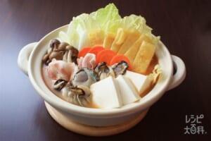 味噌豆乳鍋