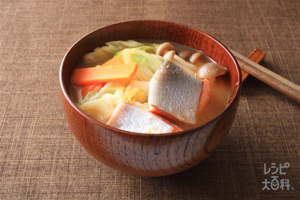 ちゃんちゃん汁(さけ+キャベツを使ったレシピ)