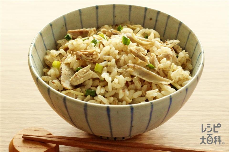 さんまのだし炊きご飯(米+さんまを使ったレシピ)