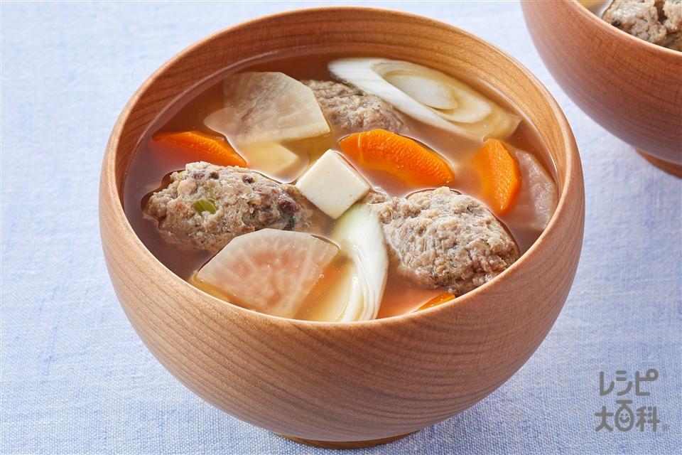 さんまのつみれ汁(さんま+Aねぎのみじん切りを使ったレシピ)