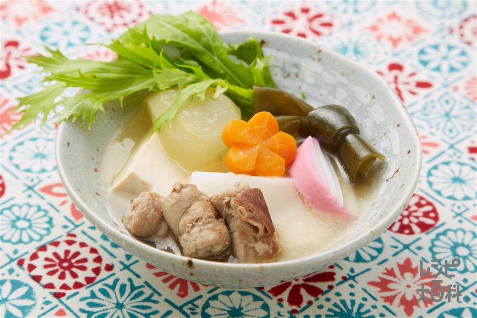 琉球のお雑煮(餅+とうがんを使ったレシピ)