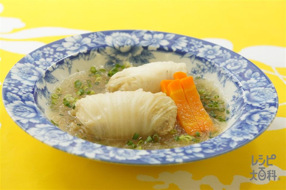 和風ロール白菜(白菜+大根を使ったレシピ)