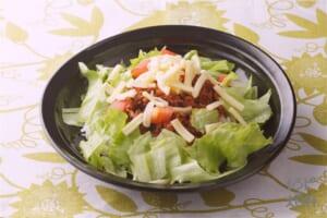 たっぷり野菜のまろやかタコライス(合いびき肉+ご飯を使ったレシピ)
