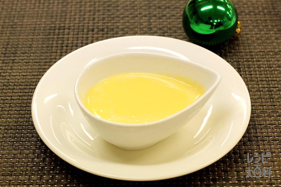アングレーズソース(卵黄+「パルスイート」を使ったレシピ)