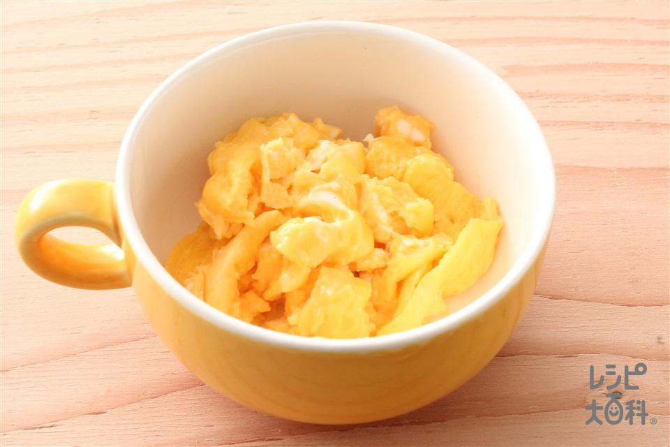 秒速 ガーリックエッグ(卵+「Cook Do 香味ペースト」を使ったレシピ)