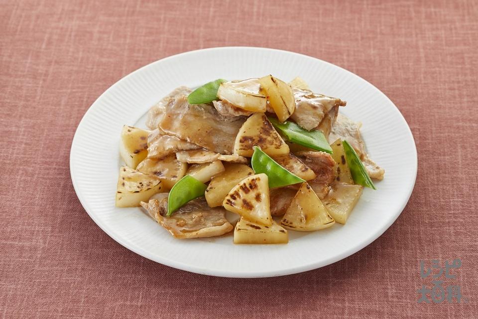 豚バラ大根(2人前)(豚バラ薄切り肉+大根を使ったレシピ)