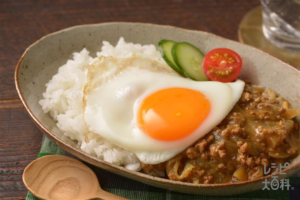 ナイスリメイク!煮込まずおいしい!大根カレー(合いびき肉+ご飯を使ったレシピ)