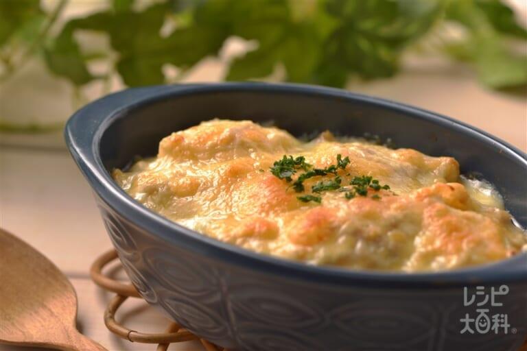 ナイスリメイク!大根の豆腐ソースグラタン